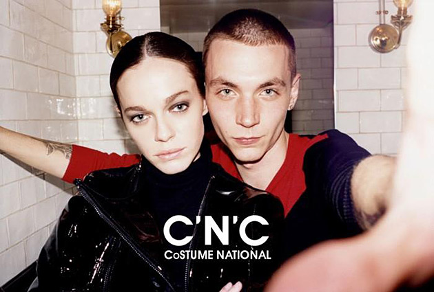 C'N'C Costume National Fall 2012 ad