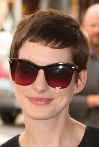 Anne Hathaway New York Premiere of Shut Up and Play The Hits cropped