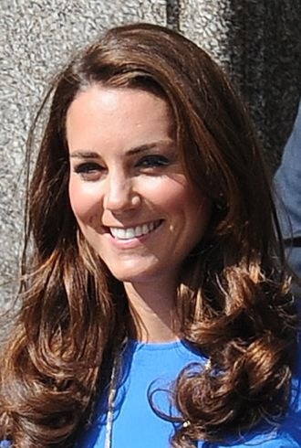 Catherine Duchess of Cambridge Road to 2012 Aiming High Exhibition London cropped