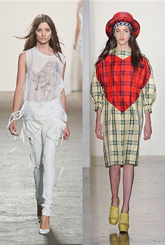 NYFW Spring 2013 Hits and Misses Pt 2 - Tess Giberson and Alexandre Herchocovitch