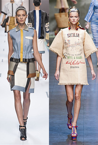 MFW Hits and Misses - Fendi and Dolce & Gabbana