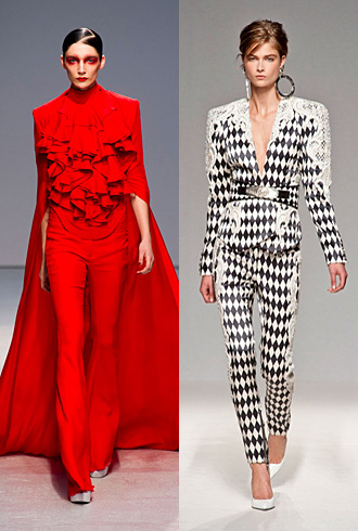 PFW Hits and Misses - Gareth Pugh and Balmain