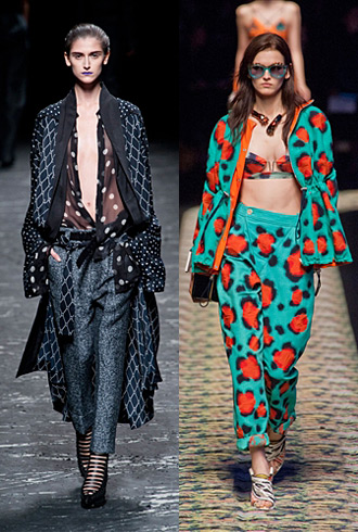 Paris Fashion Week Spring 2013 Hits and Misses - Haider Ackermann and Kenzo