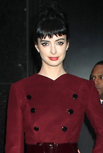 Krysten Ritter at ABC Studios for Good Morning America New York City cropped