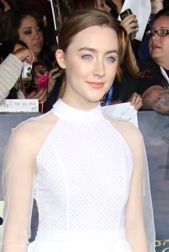 Saoirse Ronan premiere of The Twilight Saga Breaking Dawn Part 2 Los Angeles cropped