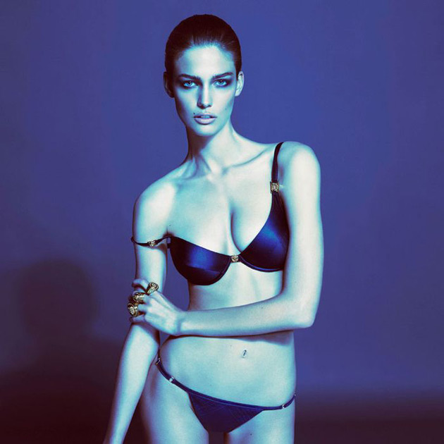Versace Underwear Spring 2013 - Kendra Spears photographed by Mert & Marcus