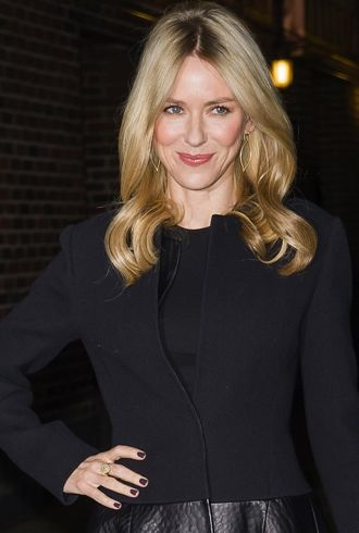 Naomi Watts Late Show with David Letterman cropped