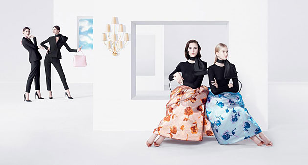 Christian Dior Spring 2013 photographed by Willy Vanderperre