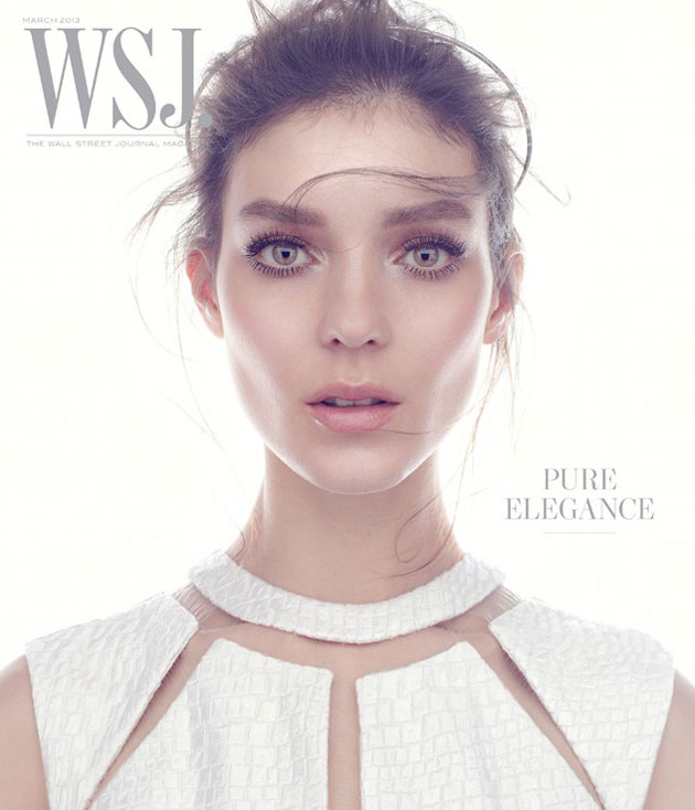 WSJ. March 2013 - Katie Nescher photographed by Mikael Jansson