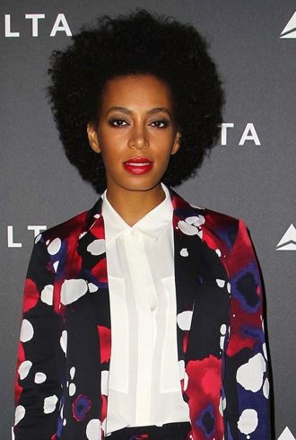 Solange Knowles Delta Air Lines celebrate LA Music Industry with Getty House reception Los Angeles cropped