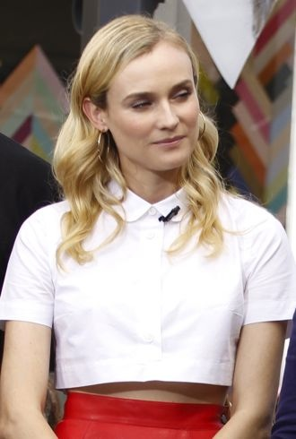 Diane Kruger appearing on Extra Los Angeles cropped
