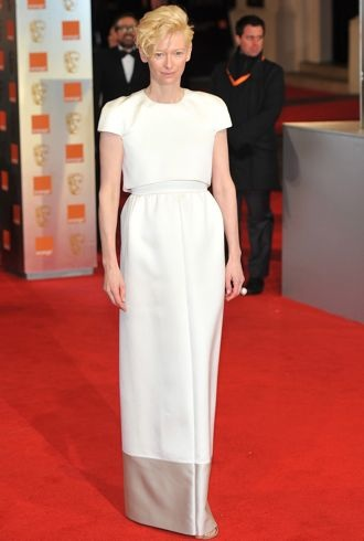 Tilda Swinton BAFTAs London Feb 2012 cropped