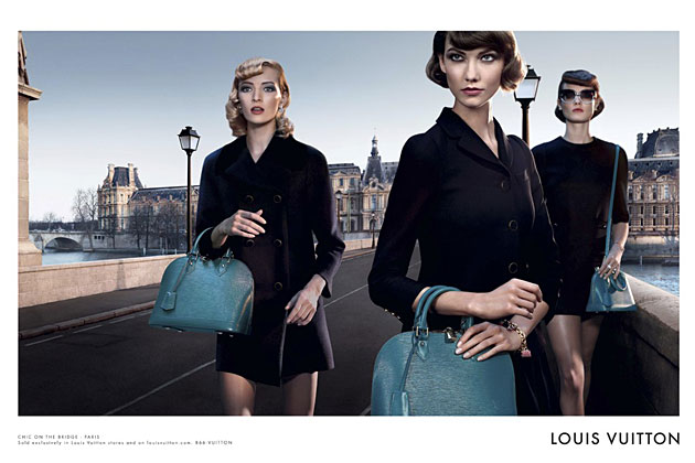 Louis Vuitton Alma campaign