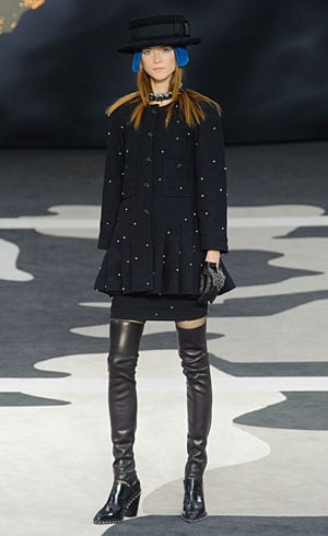Chanel fall 2013 runway look