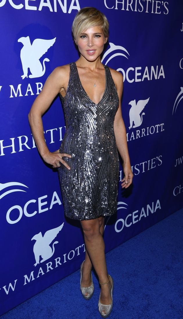 Elsa Pataky 2013 Inaugural Oceana Ball New York City