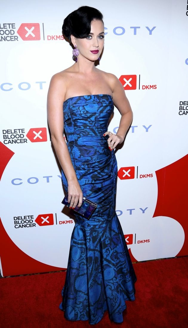 Katy Perry 2013 Delete Blood Cancer Gala New York City