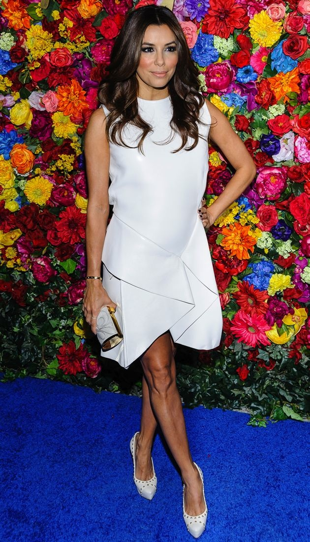 Eva Longoria Salvatore Ferragamo Celebrates the Launch of LIcona highlighting the 35th Anniversary of Vara New York City