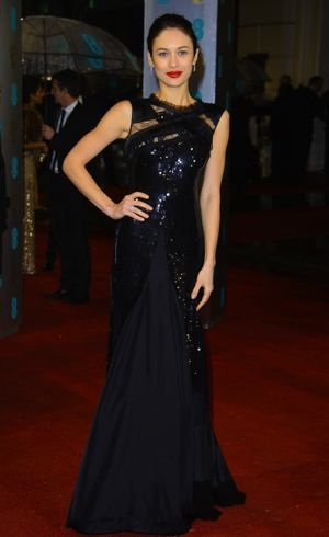 Olga Kurylenko 2013 BAFTA Awards London Feb 2013