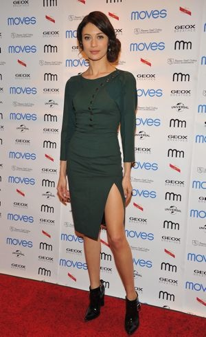 Olga Kurylenko 2013 Moves Magazine Spring Fashion Cover Party New York City April 2013