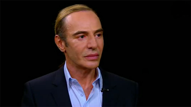 John Galliano on Charlie Rose