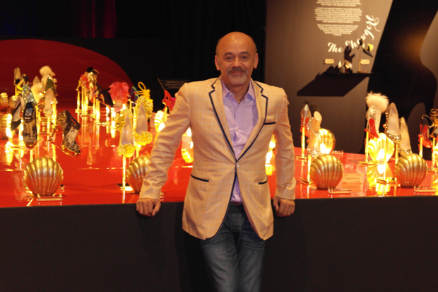 Christian Louboutin at the Design Exchange, Toronto