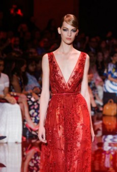 Elie Saab Fall 2013 Haute Couture: Red Carpet-Ready Drama