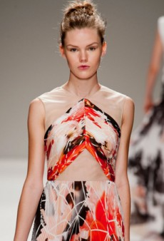 Bibhu Mohapatra Speaks Volumes with New Sensibility for Spring 2014