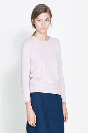Zara-sweater-pink