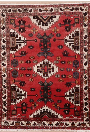 New Contemporary Persian Hamadan Area Rug from Medallion Rugs