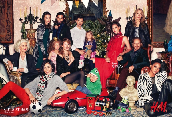H&M Holiday 2013 Campaign