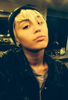 Miley Cyrus Gets Birthday Brows and Other Celeb Twitpics of the Week