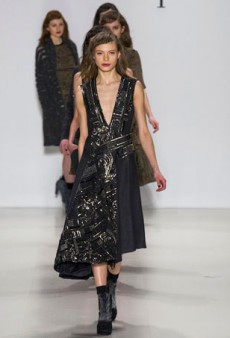 Nanette Lepore Fall 2014: A Complex Mix of References and Eras (Runway Review)