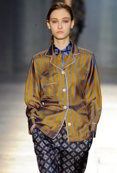 Paul Smith Throws a Pajama Party for Fall 2014 (Runway Review)