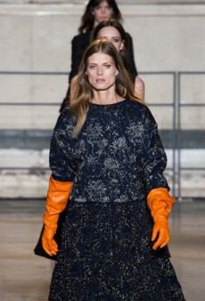 Rochas Fall 2014: A Splashy Debut from Alessandro Dell'Acqua (Runway Review)