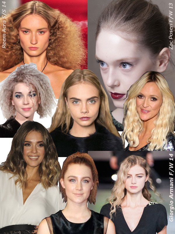 Crimped-hair-collage