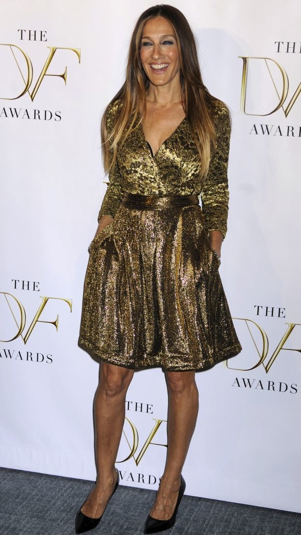 Sarah Jessica Parker Nails the Flapper Vibe Without
