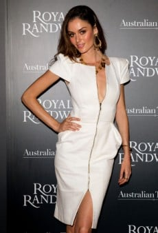 Want to Wear Black-and-White Like a Badass? Take a Cue from Aussie Model Nicole Trunfio