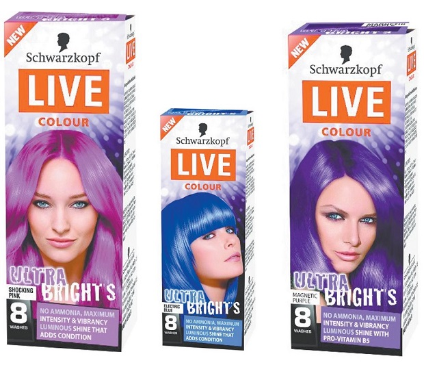 The Best Temporary Hair Color Products For Rainbow Hued Hair Thefashionspot