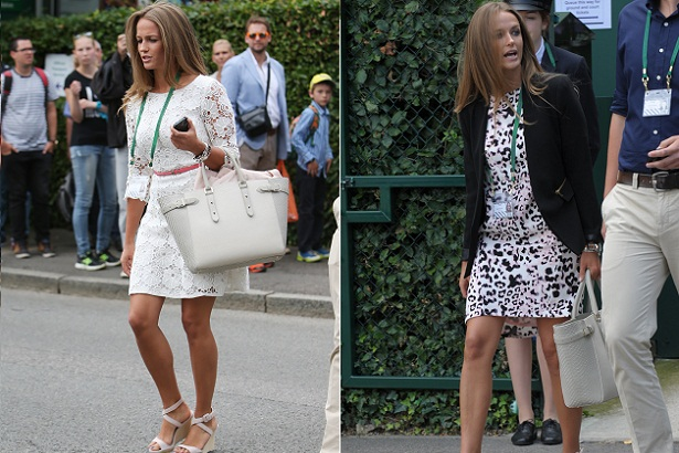 2014 Wimbledon Championships - Day 1 - Celebrity Sigtings
