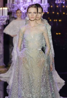 Elie Saab Journeys Under the Sea for Fall 2014 Haute Couture