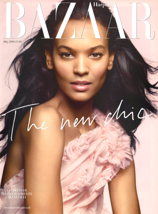 Flashback UK Harper's Bazaar May 2008 Liya Kebede Alexei Hay