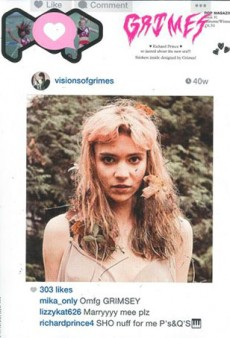POP's New Cover with Grimes Looks Like an Instagram Screenshot (Forum Buzz)