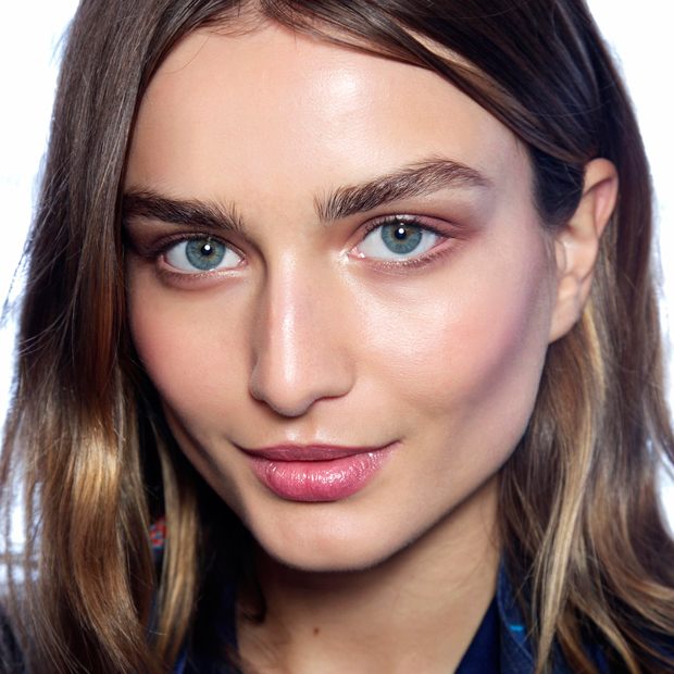 backstage beauty Tommy Hilfiger Spring 2014