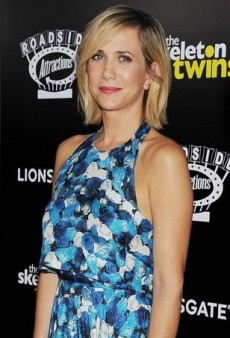 Kristen Wiig Welcomes Fall in a Transitional Peter Som Floral Outfit