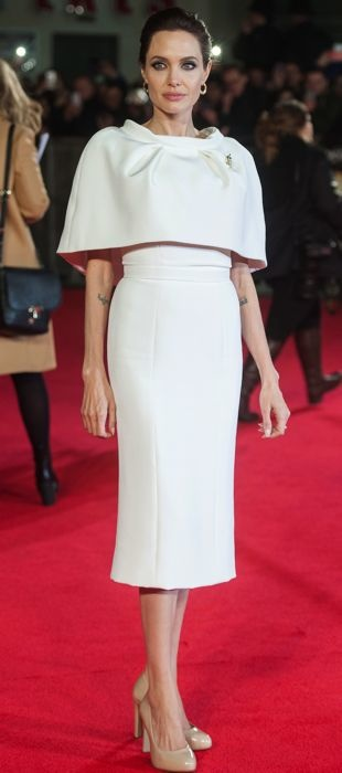 Angelina Jolie in Ralph & Russo at the London premiere of Unbroken