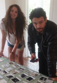 James Franco Is Totally Smitten with Lana Del Rey