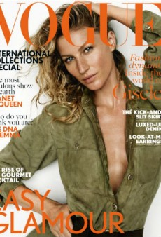 Gisele's Vogue UK Cover Looks Like All Her Other Covers (Forum Buzz)