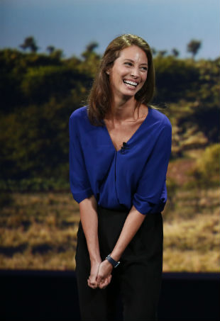 Christy Turlington Apple Watch