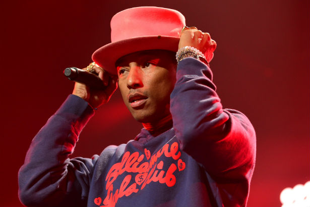 Pharrell Williams tall hat