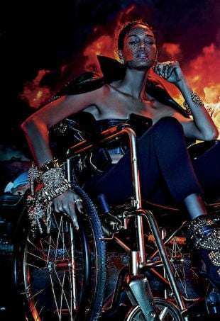 Joan Smalls V Magazine Fire With Fire